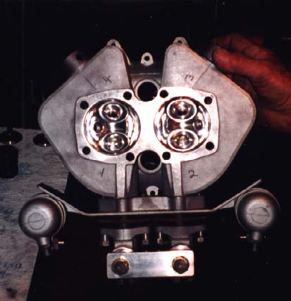 Head with valves